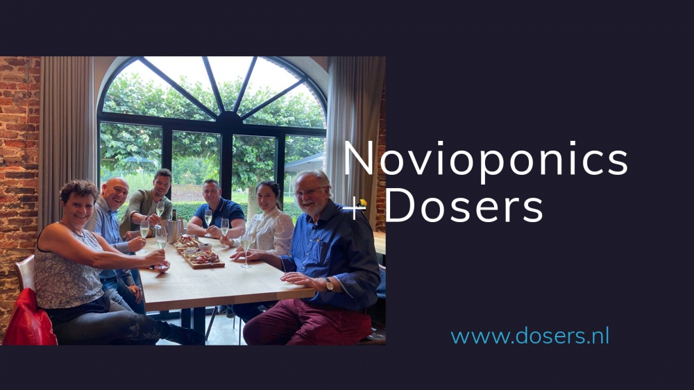NovioPonics and Dosers sign collaboration